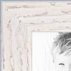 ArtToFrames 8x10 / 8 x 10 Picture Frame White Stain on Red Oak .. .625'' wide (WOM81784)