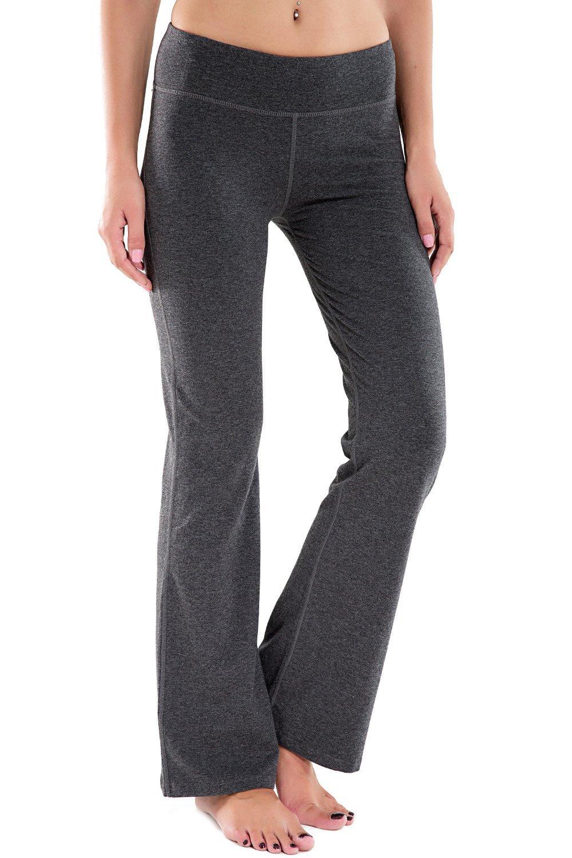 1be283de1e Get Quotations · Houmous (S-XXL) Petite/Regular/Tall Length,Women's Yoga  Bootleg