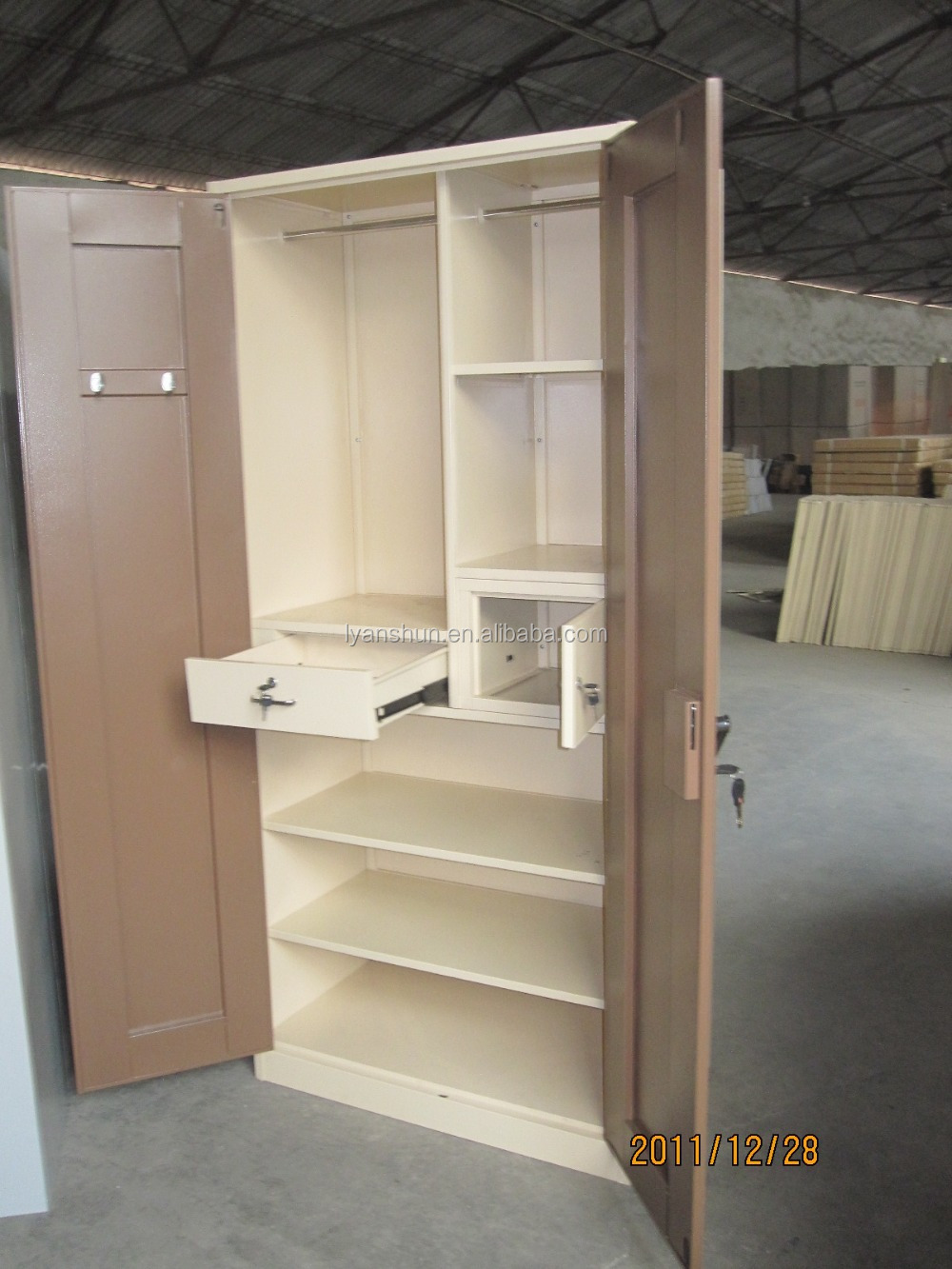 Government Tender Clothes Cabinet Hanging /clothes Cabinet For ...