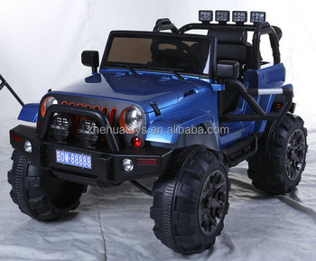 White Jeep Wrangler Power Kids 12v Ride On Toy Remote Control Battery Wheels Rc Style Car