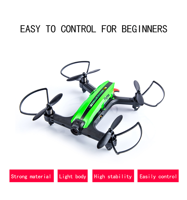 2. T18D_Green_Racing_Drone_with_Altitude_Hold_WIFI_FPV_RC_Drone