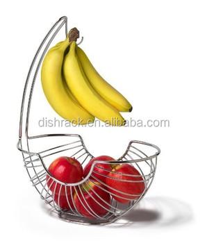 New Product Banana Hanger Metal Fruit Basket - Buy Fruit Basket ...