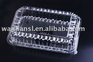 disposable fruit storage box/plastic food container
