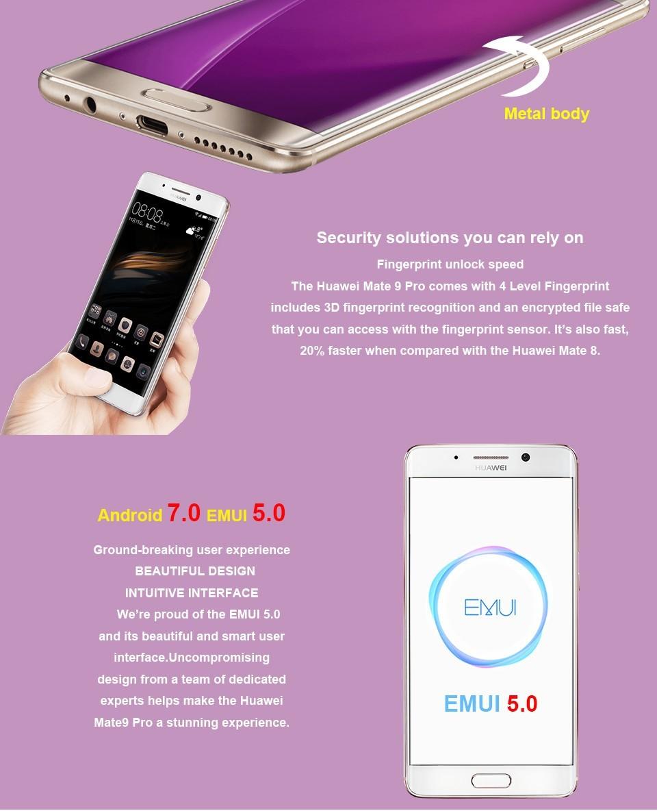 original huawei mate mate kirin cpu g ram g rom cellphone android inch