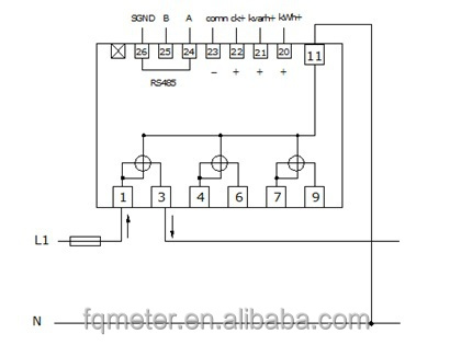HTB1QsH1GVXXXXa0XVXXq6xXFXXXS em537 3*133 230v 3*230 400v 3 phase 4 wire meter sub meter 380v 400v to 230v transformer wiring diagram at crackthecode.co