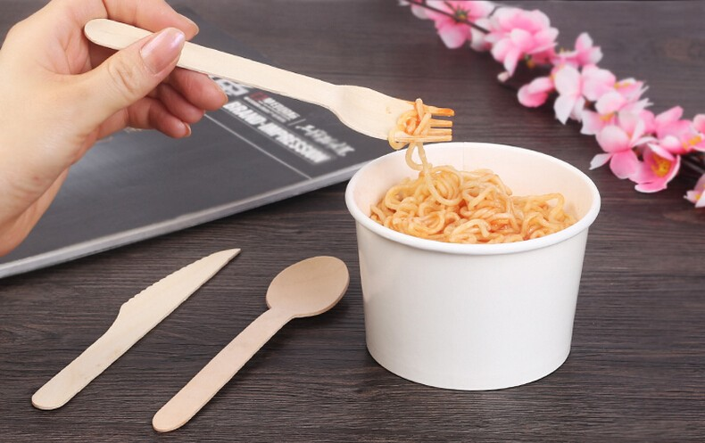 Promotional Custom Printed Wooden Spoon For Food