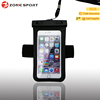 PVC universal waterproof bag with armband,Waterproof earphone with waterproof for iphone 6