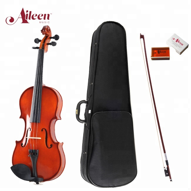 New 1/4 Acoustic Violin Case Bow Rosin Natural To Assure Years Of Trouble-Free Service Violins Musical Instruments & Gear
