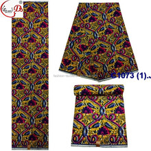 New month Hot Sale C1073 (1) African Traditional wax fabric wholesale high quality beautiful printed wax fabric in stock