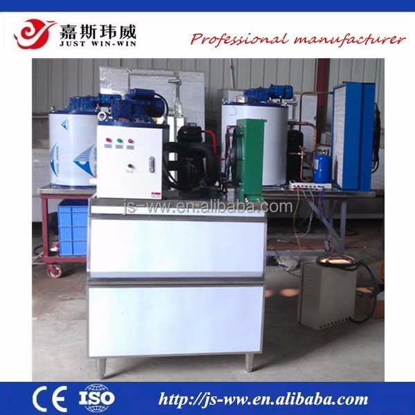 wholesale ice-makers flake used for seafood new design flake ice making machine made in China