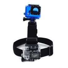 Gopros 2 mounts head strap, new style, head strap for 2 cameras, Gopros head strap with 2 mounts for xiaomi yi, SJcam, GP23B