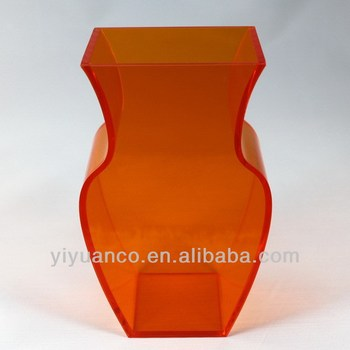 China Manufacture Tall Acrylic Vaseacrylic Cylinder Vaseclear
