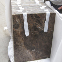 China building decoration polished dark emperador marble wall cladding