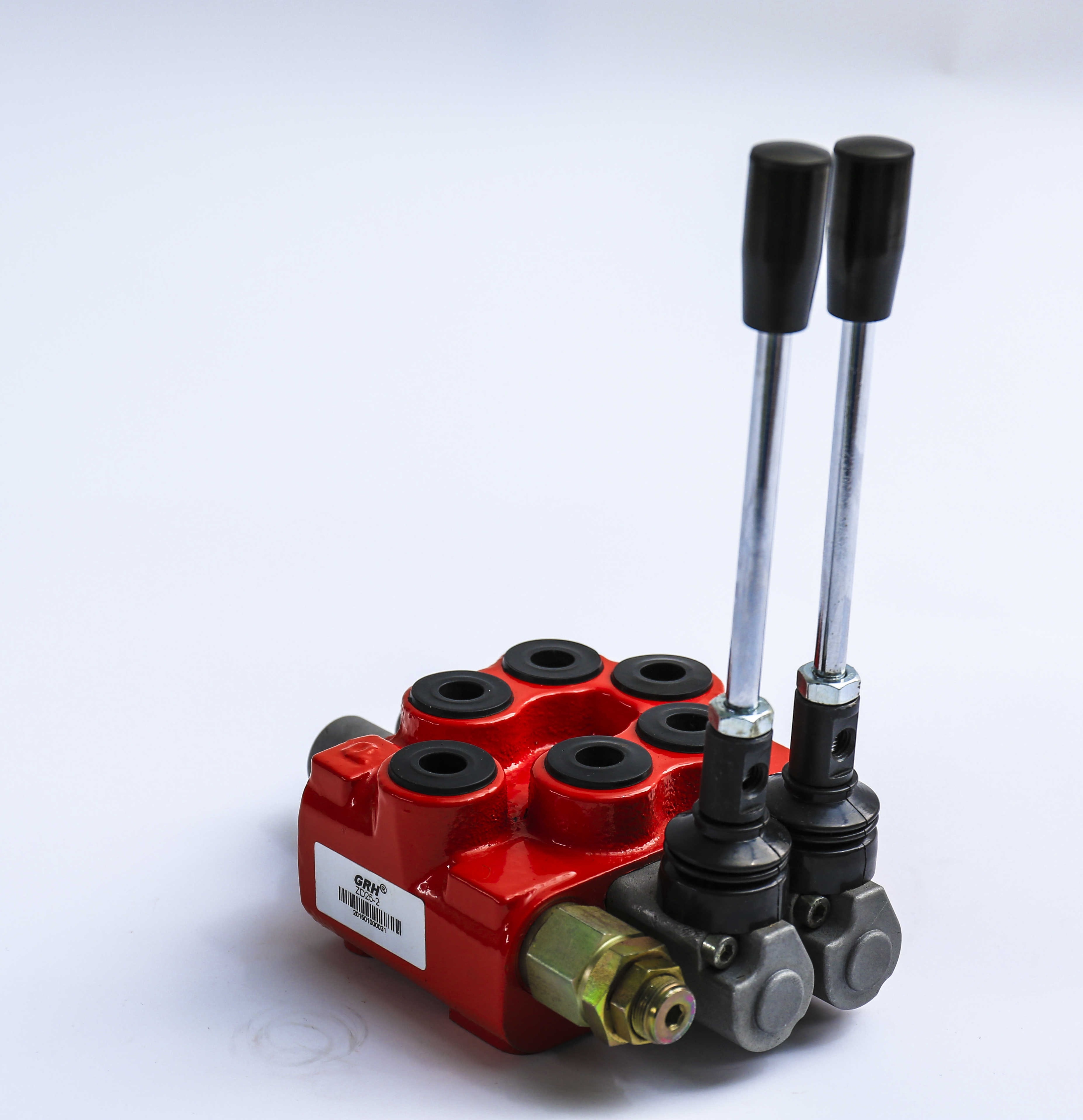 GDV45-5 hydraulic monoblock valve manual control