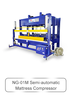 NG-17R Mattress compress& roll packing machine use for roll pack mattress