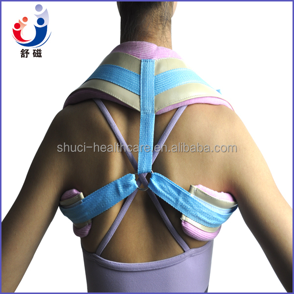 Movable D-rings Comfortable Clavicle Support for Posture Correction