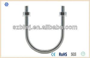 Steel U Bolt Clamp Fastener