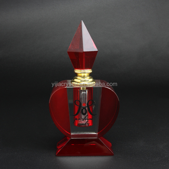 2017 Hot Sell Crystal Wedding Favor Perfume Bottle Wholesale 12ml Empty Glass