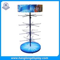 circular jewelry table top rotating display stand
