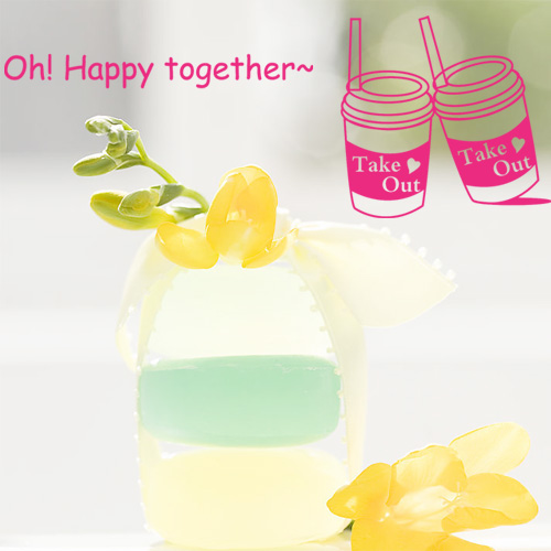 Free Shipping Happy together kitchen cabinet glass refrigerator  simple  Home decor  wall stickers 21 x 25CM