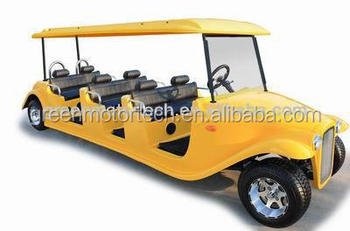ce certificate electric classic car 8 seater golf cart beat up car for clubs