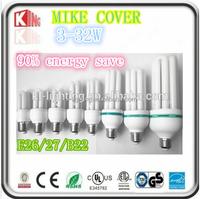 Modern U Shape milky white cover 3u/4u led lamp CE RoHS 3-32W E27 LED Corn Light Bulb