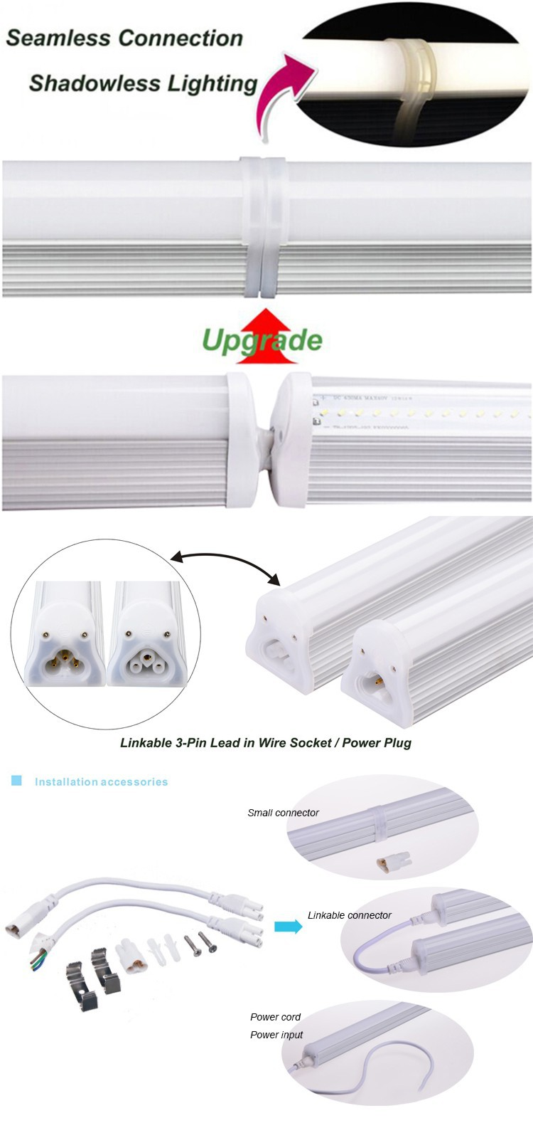 UL listed linkable integrated t8 led garage lighting  sc 1 st  Guangdong Lonyung LED Lighting Co. Ltd. - Alibaba & UL listed linkable integrated t8 led garage lighting View garage ... azcodes.com