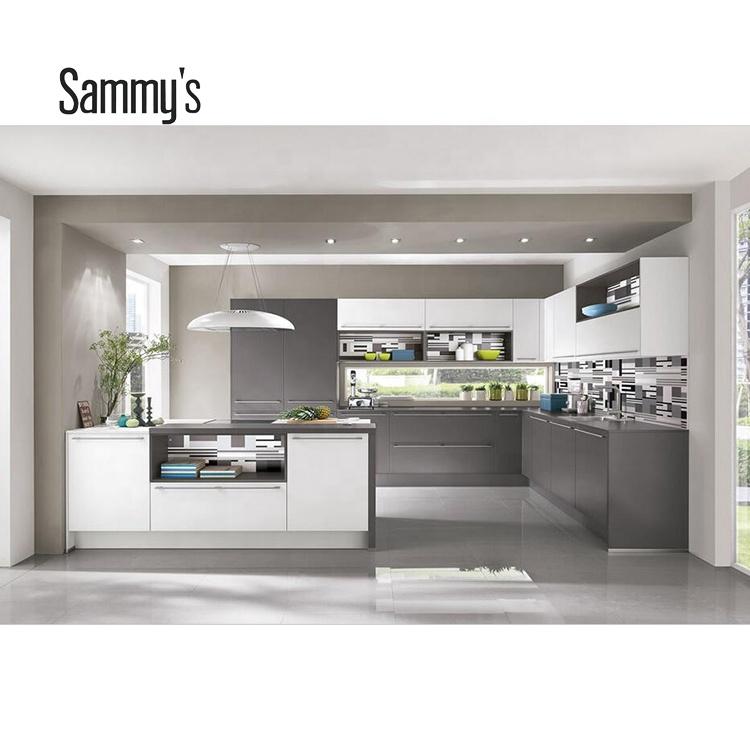 Ak1671 German Workmanship Modern Matt Finish Lacquer Kitchen Cabinet Design  - Buy Lacquer Kitchen Cabinet,Mdf Lacquer Kitchen Cabinet Design,Matt