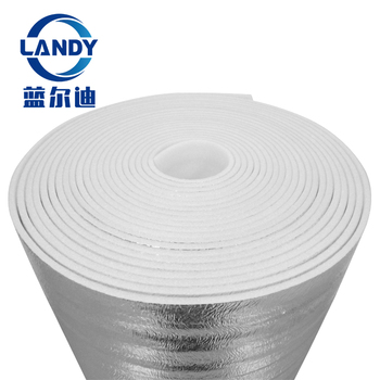 Polyolefin Insulation Foam 3 Mm 4 Mm,Heat Shield Epe Acoustic Foil Aluminum  Insulation Soundproof - Buy Heat Shield Epe Aluminum Insulation