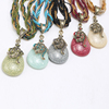 Handmade Seed Beads Water Drill Women's Necklace Sweater Chain