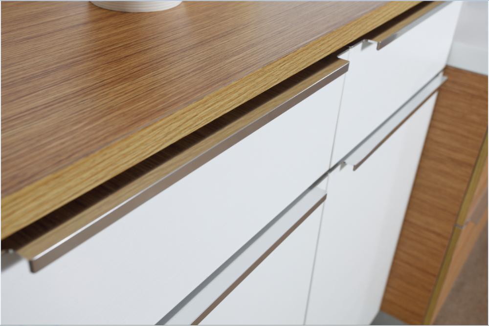 Melamina pequeña cocina modular diseños con precio-Cocinas ...