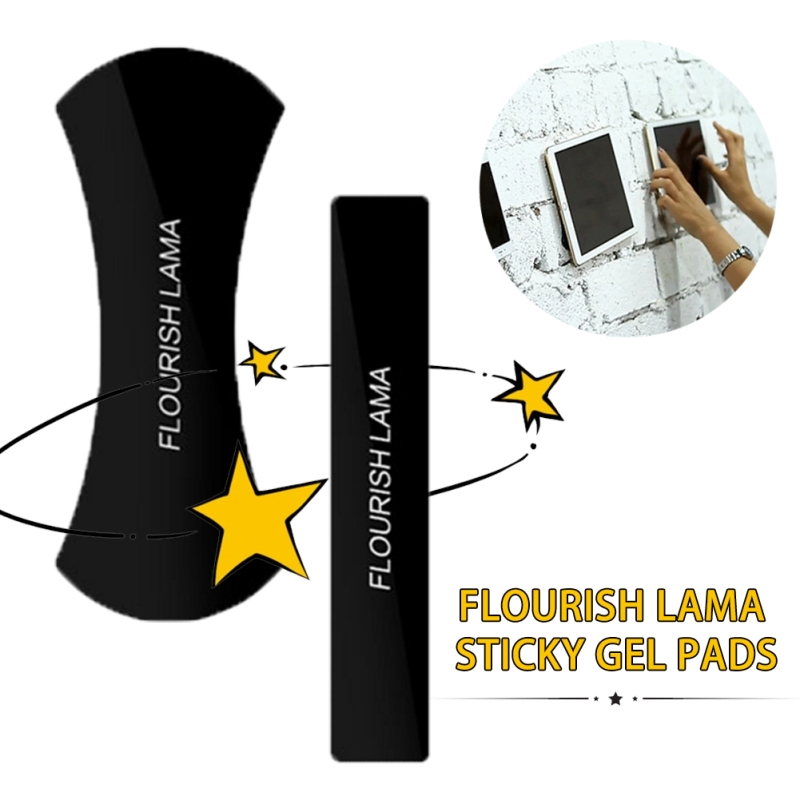 FLOURISH LAMA Powerful Strong Holder Stick Glue Anywhere Wall Sticker Anti Slip Washable Repeatedly Car Mobile Phone Bracket