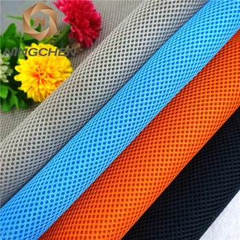 CHINA SUPPLIER 100% polyester sandwich polyester breathable sandwich/car seat upholstery fabric