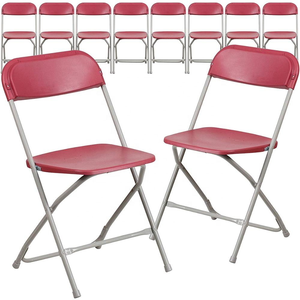 Free sample Flash Furniture Plastic Folding Chair for event