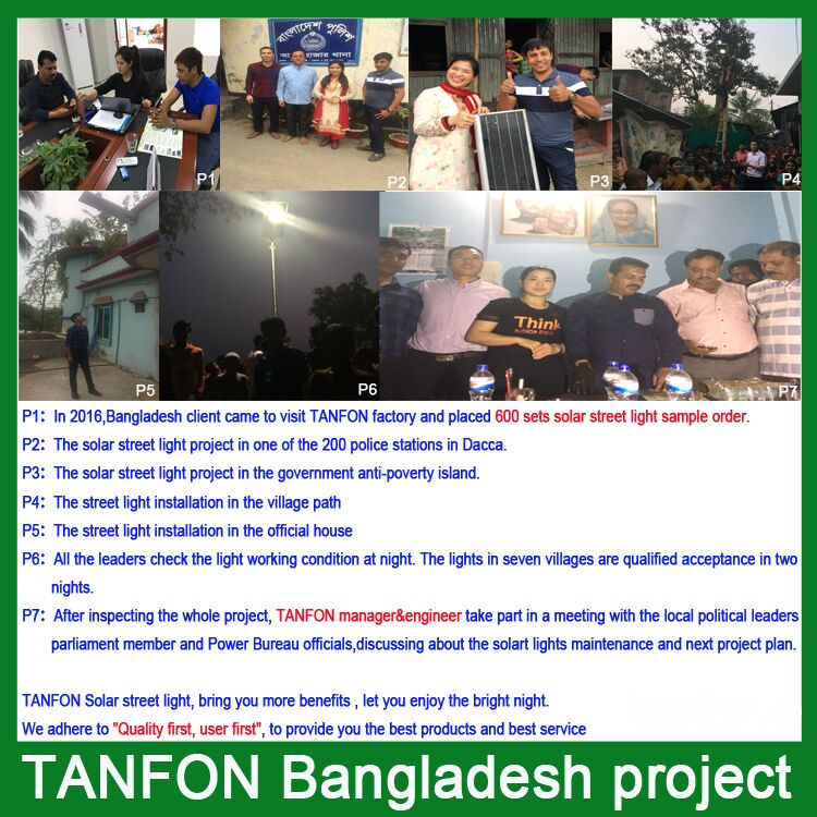 Bangladesn solar street light system project