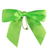Customized wholesale gift wrapping elastic satin ribbon bow
