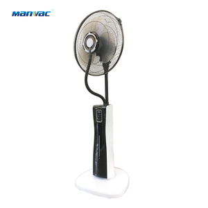 MV-FS-06 black power 75W king of fans pedestal fan misting air cooler