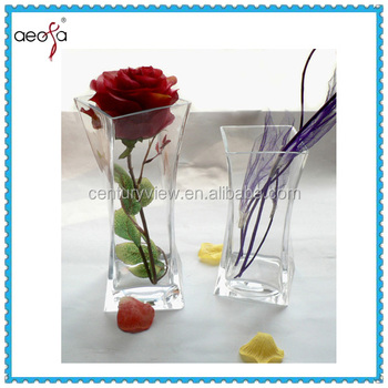 Wholesale Square Small Clear Glass Flower Vases Buy Clear Glass
