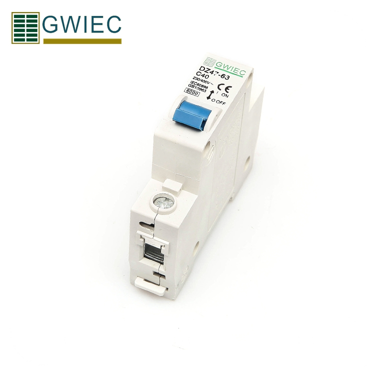 GWIEC Trade Assurance Order China Protection Single Phase Miniature Circuit Breaker Mcb 1P