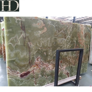 Classic Building Material Ancient Bamboo Jade Green Onyx Marble Slabs in Hot Sale