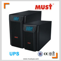 ups power supply 1kva online lcd display dsp control and igbt technology