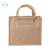 Jute shopping bag with bamboo handle