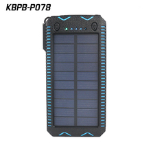 wholesales Comping solar charger power bank 20000mah with cigarette light