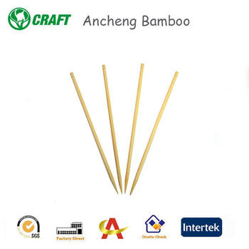 Bamboo skewer plastic picks pocket personized bamboo toothpicks