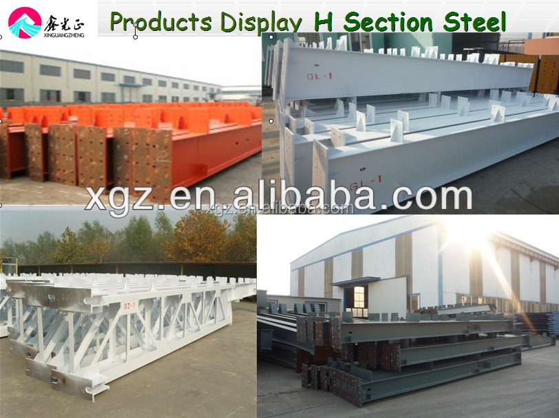 ISO certified Indutrial light steel structure processing workshop