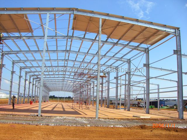 prefabricated metal steel agricultural greenhouse used sale