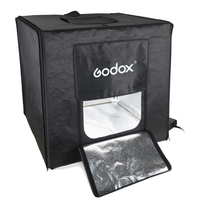 Godox Double-light LED Mini Photography Studio LSD40cm/60cm/80cm light box photography mini photo for studio
