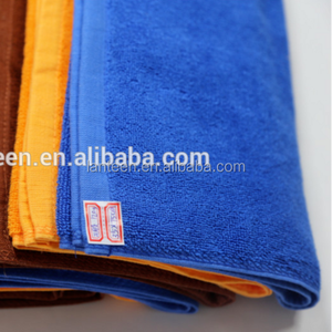 Wholesale low price stock lot 100 towel manufacturers face/ hand towel size 35*75 120g
