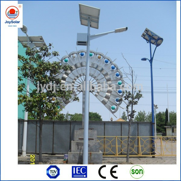 CE and TUV approved led solar light high efficiency solar panel for street and highway