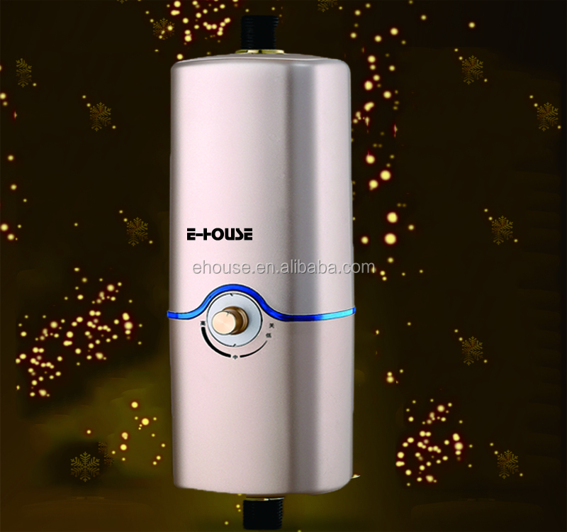 2017 new type 3500-5500W adjustable instant mini themostat electric water heater